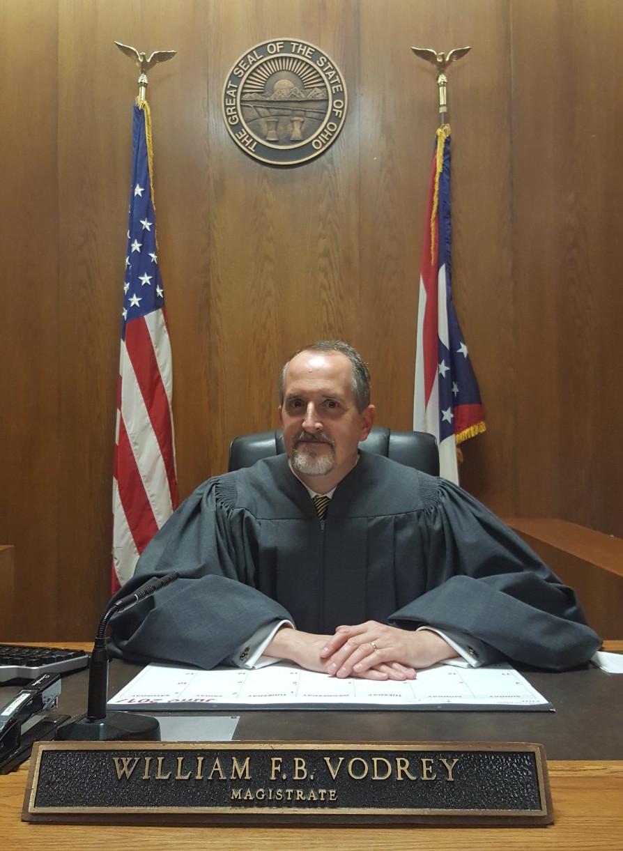 William Vodrey in Courtroom