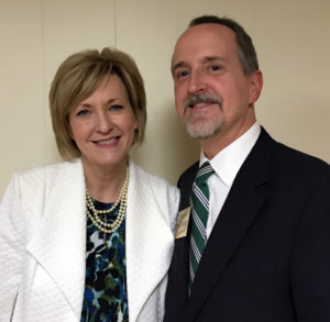 William with Betty Sutton, candidate for Ohio Lieutenant Governor