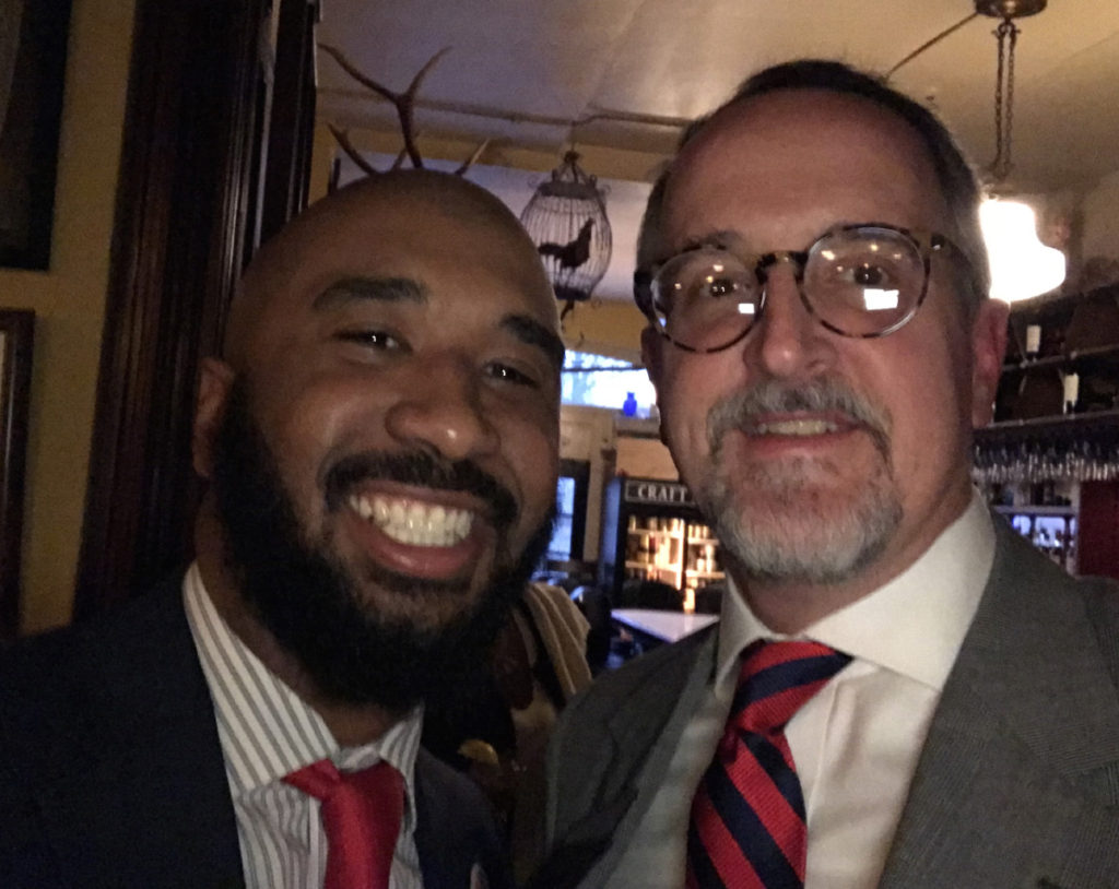 William with Michael Houser, Cuyahoga County Council member
