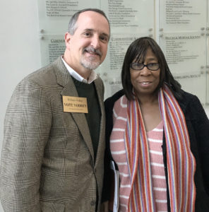 William with Phyllis Cleveland, Ward 5 Cleveland Councilwoman