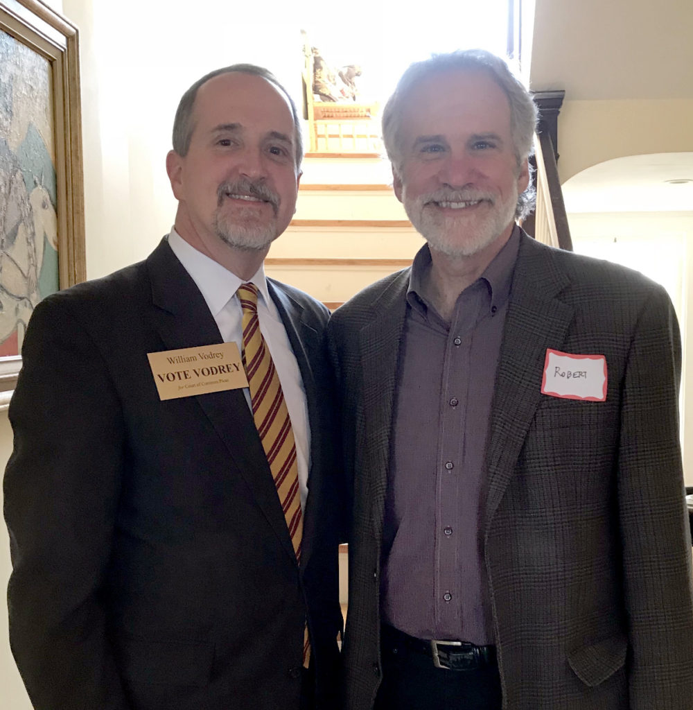 William with Robert Triozzi, Cuyahoga County Director of Law
