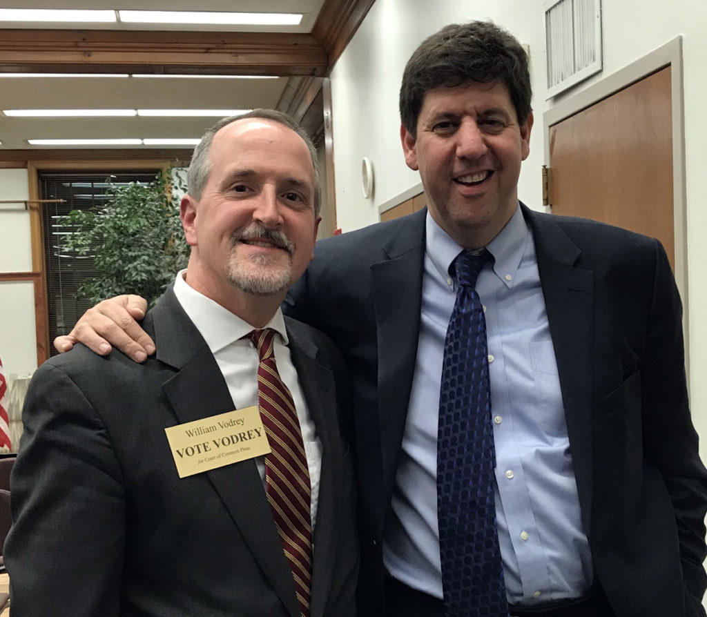 William with Steve Dettelbach, candidate for Ohio Attorney General